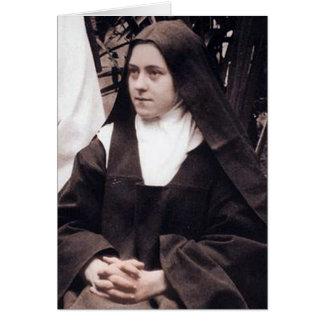 St Therese av Lisieux, lite blomman Hälsningskort