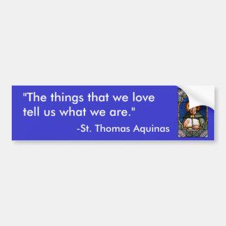 St Thomas Aquinas Bildekal