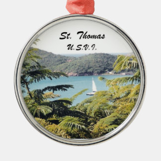 St Thomas U.S.V.I. Julgransprydnad Metall