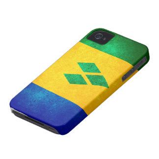 St. Vincent & granatäppelsaftflagga iPhone 4 Case-Mate Skal
