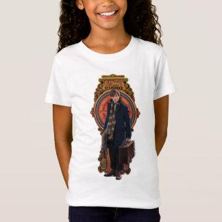 Stå art nouveaupanel för NEWT SCAMANDER™ T-shirt