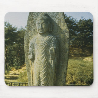Stå Buddha på Ch'olch'on-ni, Naju, 10th centu Musmatta