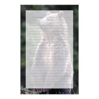 Stå Grizzlybjörn Brevpapper