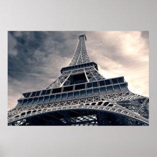 Stå hög det Eiffel torn Poster