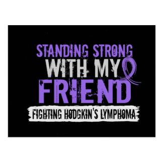 Stå stark vänHodgkins lymfkörtelcancer Vykort
