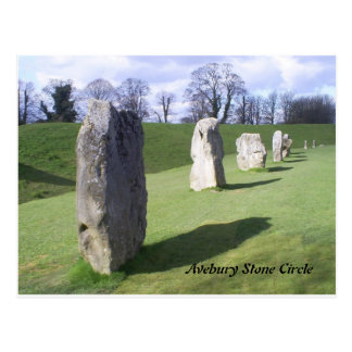 stå stenar vykort
