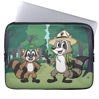 Stack & Ricky för skogsvaktare för Laptop Sleeve