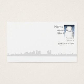 Stad - affär visitkort
