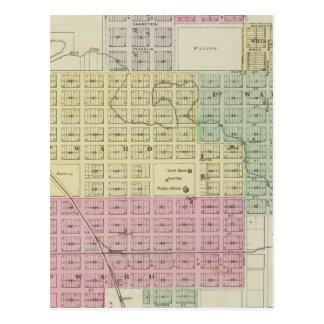 Stad av Burlington, Coffee County, Kansas Vykort