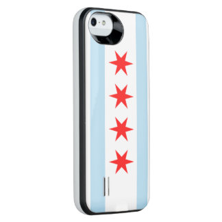 Stad av den Chicago flagga iPhone SE/5/5s Batteri Skal
