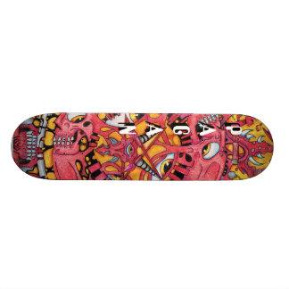 """""""Stad av Dis-"""" Skateboard"""