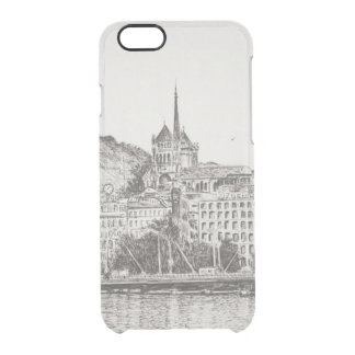 Stad av Geneva 2011 Clear iPhone 6/6S Skal