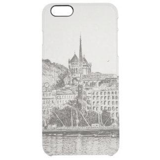 Stad av Geneva 2011 Clear iPhone 6 Plus Skal