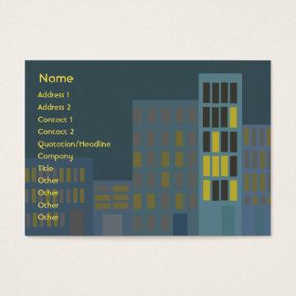 Stad - knubbig visitkort