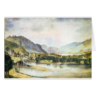 Staden av Trento av Albrecht Durer Hälsningskort