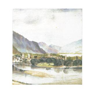 Staden av Trento av Albrecht Durer Minneslappar
