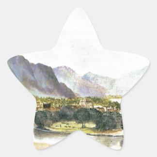 Staden av Trento av Albrecht Durer Stjärnformat Klistermärke