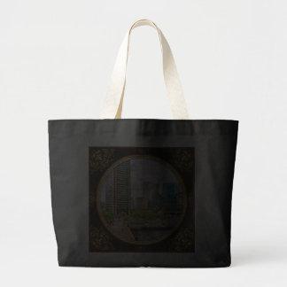 Staden - hamnställe - Baltimore världshandel centr Tote Bags