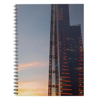 staden spiralbundna anteckningsböcker