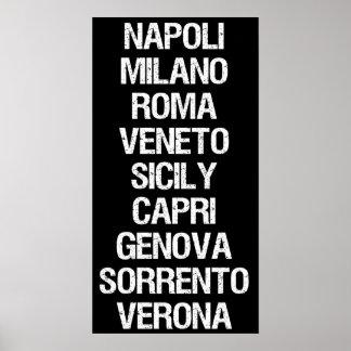 Städer av italien