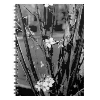 Stads- blommor anteckningsbok