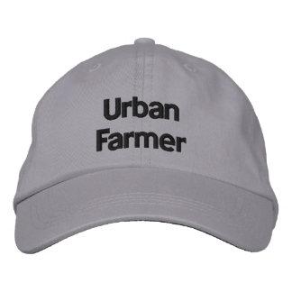 Stads- bonde personifierad justerbar hatt broderad keps