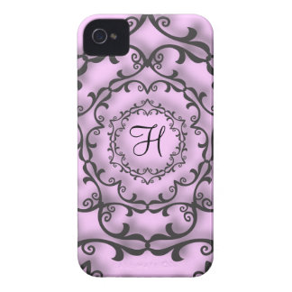 Stads- gotisk svart rulla Case-Mate iPhone 4 case