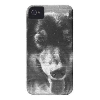 Stads- konstaustralian shepherd iPhone 4 Case-Mate skal