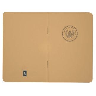 Stads- konsulatanteckningsbok anteckningsbok
