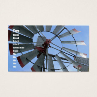 Stads- kvarn visitkort
