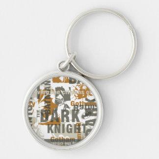 Stads- legender för uppassare - besparing medborga rund silverfärgad nyckelring