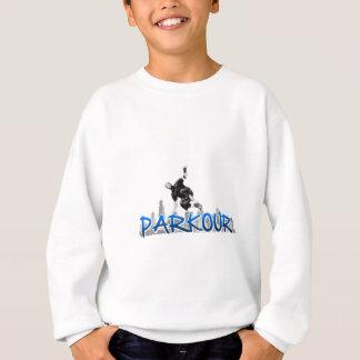 Stads- Parkour utrustar Tshirts