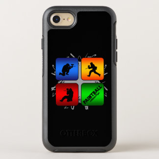 Stads- stil för fantastisk Paintball OtterBox Symmetry iPhone 7 Skal