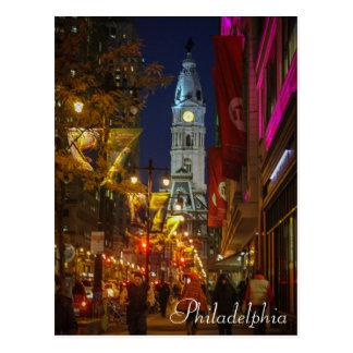 Stadshus Philadelphia Vykort