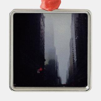 Stadsmålning Julgransprydnad Metall