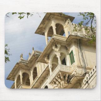 Stadsslott, Udaipur, Rajasthan, Indien Musmatta
