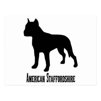 Staffordshire för amerikan 1715112006 Terrier Vykort