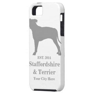 Staffordshire & för Terrier mobilt fodral - roligt iPhone 5 Case-Mate Fodraler