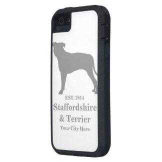 Staffordshire & för Terrier mobilt fodral - roligt iPhone 5 Fodraler