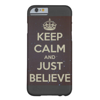 Staglugn och precis tro iphone case barely there iPhone 6 skal