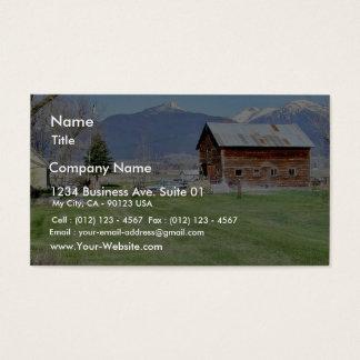 Staket för ladugårdgräsberg visitkort