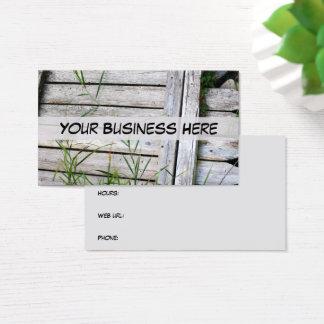 Staket för omsorg för gräsmatta för visitkort