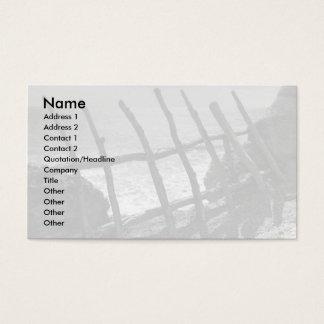 Staket och hav visitkort