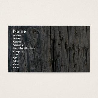 Staketstolpenärbild Visitkort