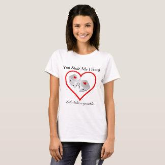 Stal min hjärta - vågspelskjorta tee shirt