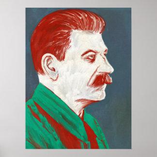 Stalin - modern konstaffisch 18x24