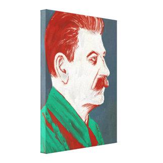 Stalin - modern konstkanfas 18x24 canvastryck