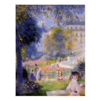 Ställe de la Trinite vid Pierre-Auguste Renoir Vykort