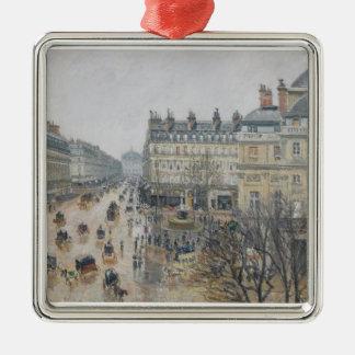 Ställe du Theatre Francais, Paris: Regna 1898 Julgransprydnad Metall