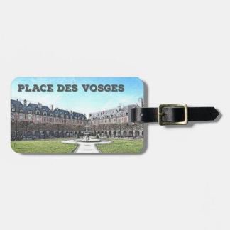 StälleDes Vosges - Paris, frankriken Bagagebricka